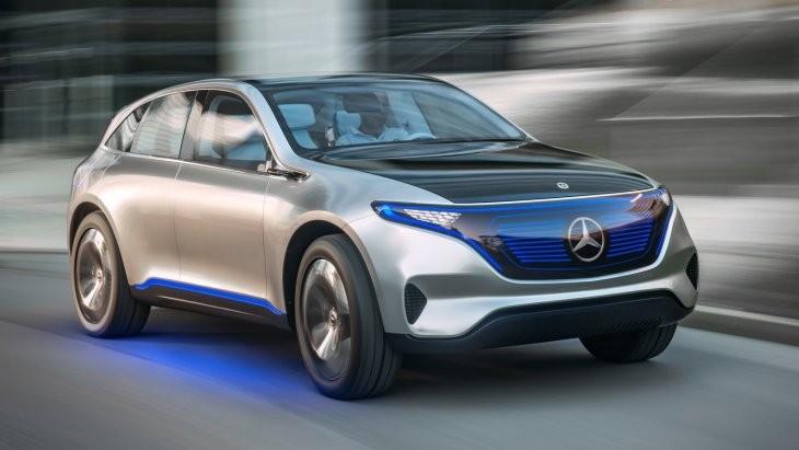 Встречайте новый электрический кроссовер EQ C от Mercedes