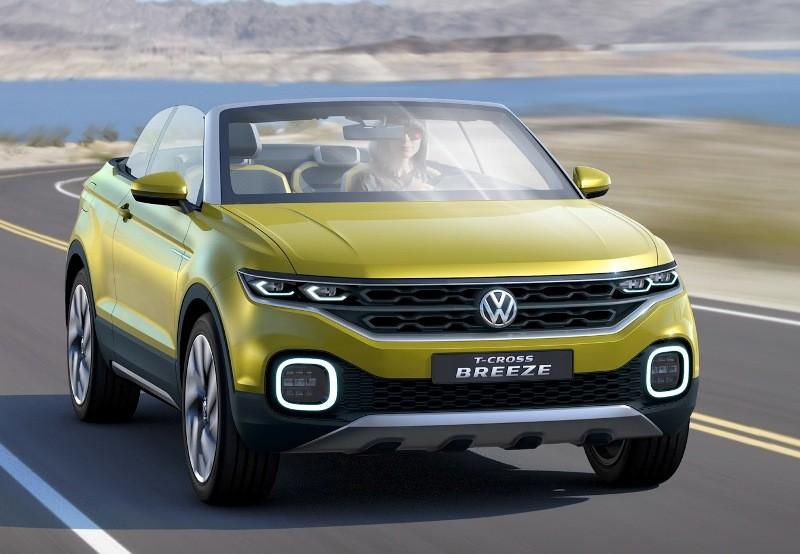 Первые фото и подробности о Volkswagen T-Cross