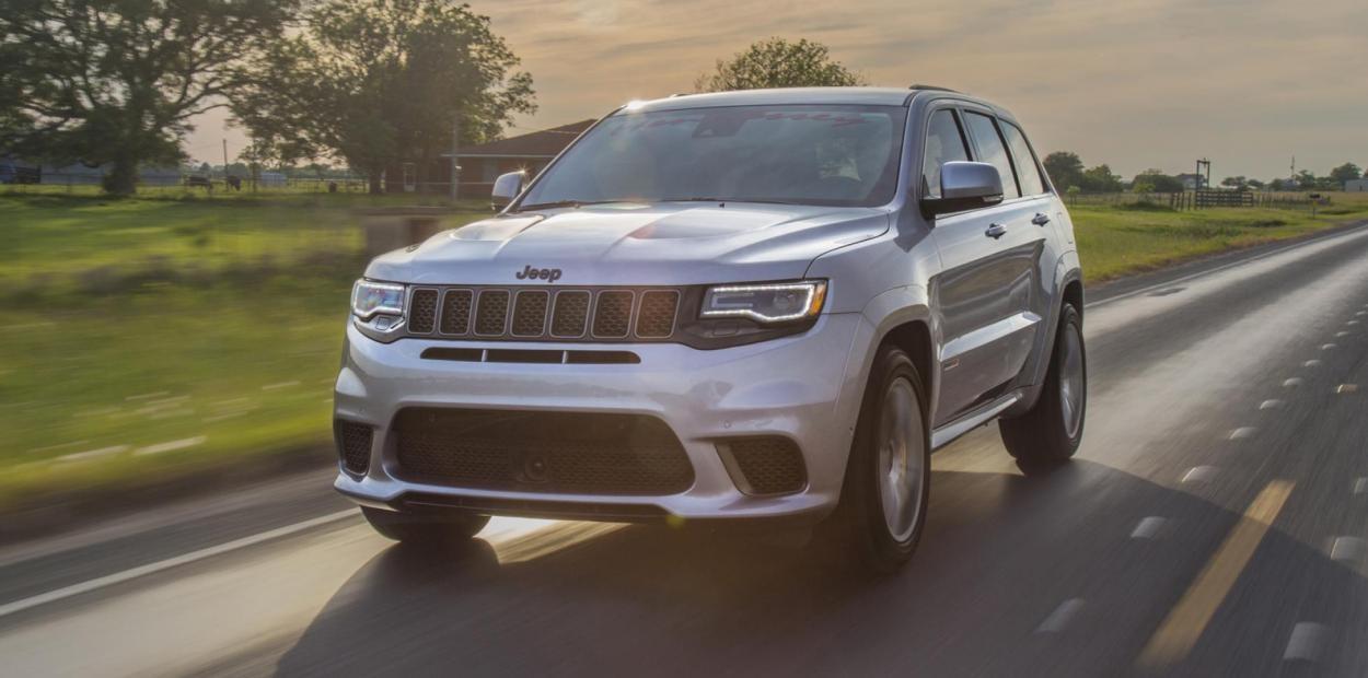 1200 л.с. Новая увеличенная мощность Jeep Grand Cherokee Trackhawk