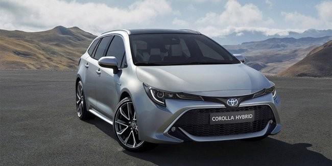 Гибридная версия Corolla от компании Toyota