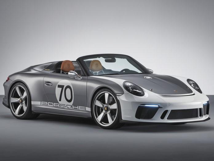 Скоро выйдет юбилейный ретро-спидстер Porsche