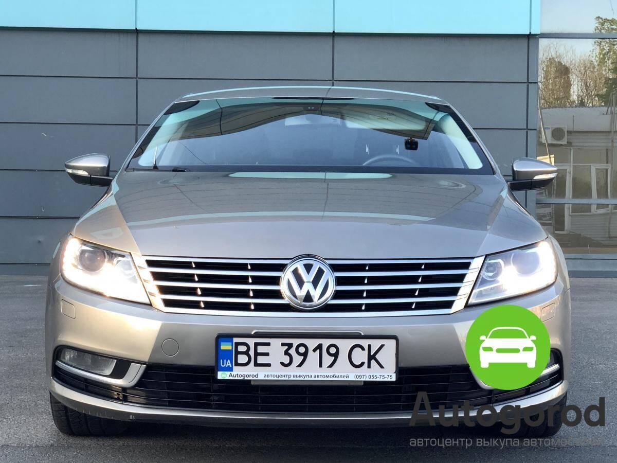 Авто Volkswagen Passat CC 2012 года - фото