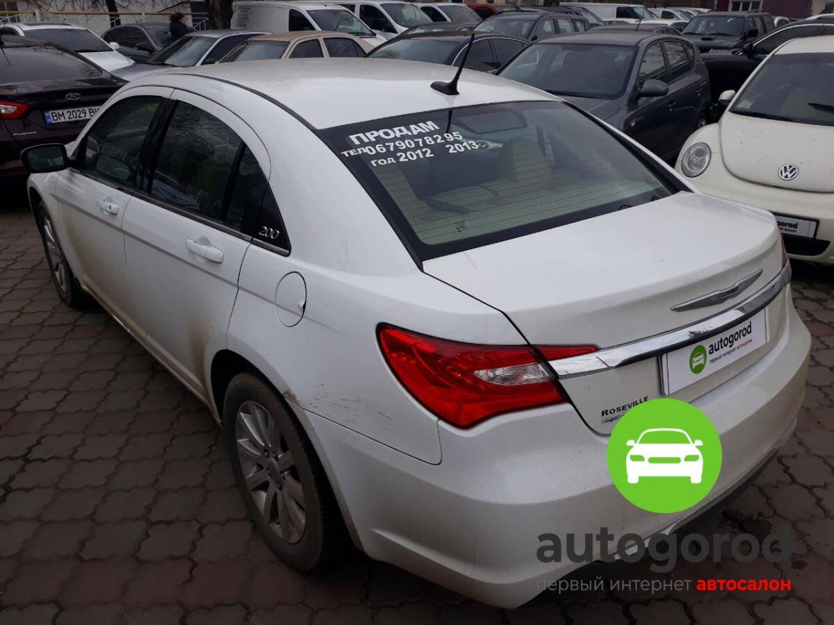 Авто Chrysler 200 2012 года фото 0