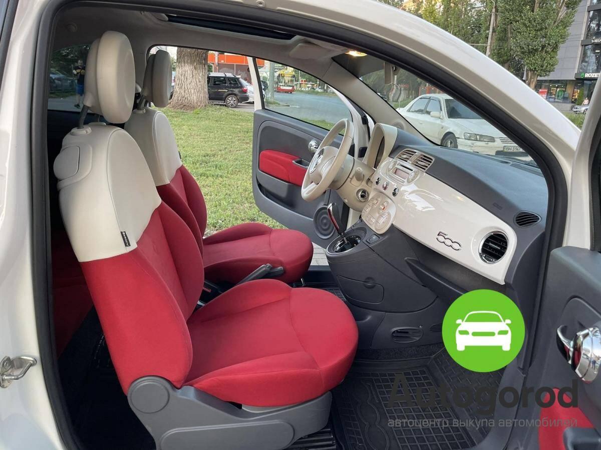 Авто Fiat 500                                         2011 года фото 9