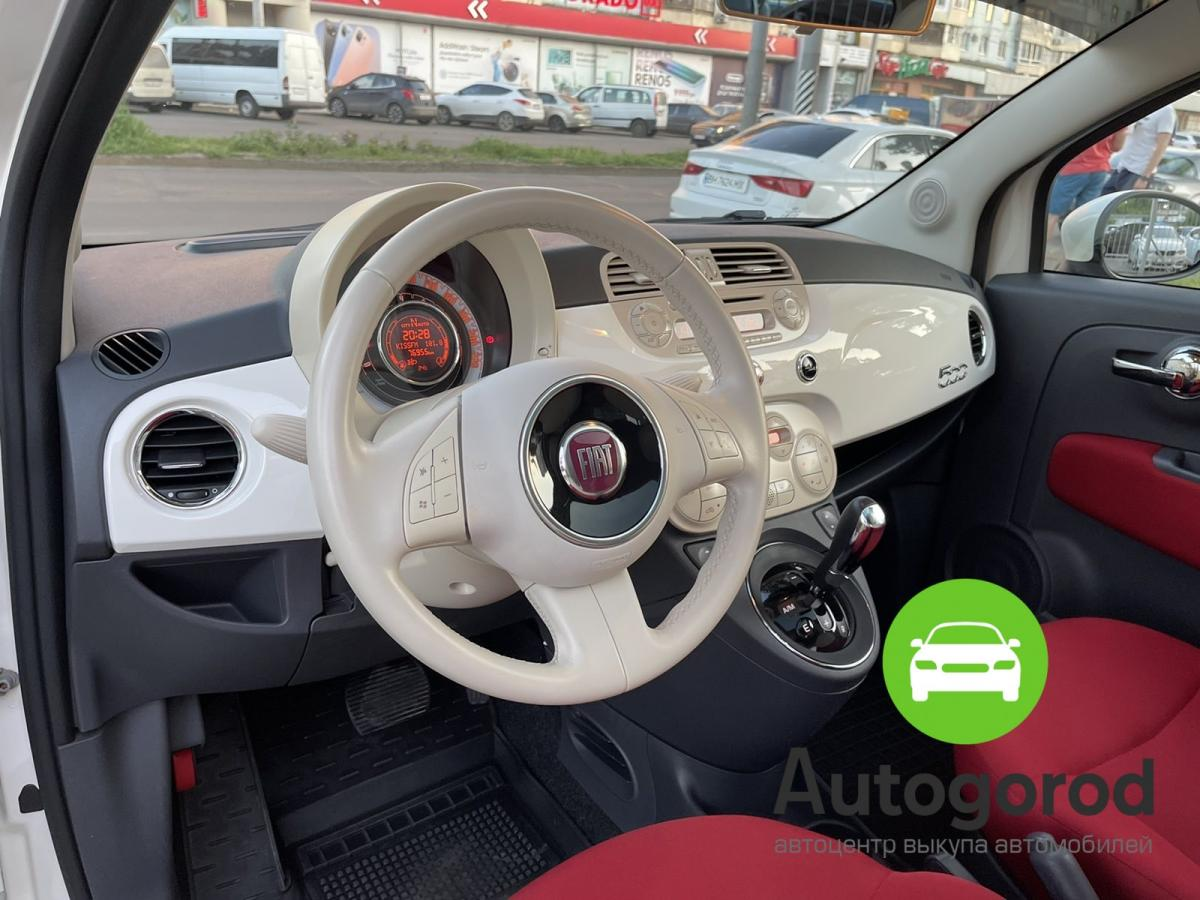 Авто Fiat 500                                         2011 года фото 12