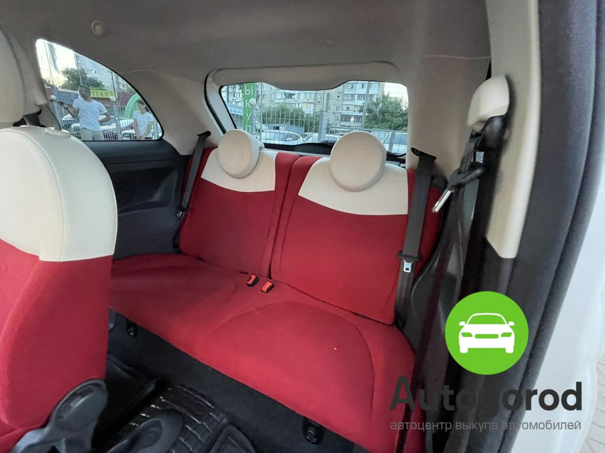 Авто Fiat 500                                         2011 года фото 14